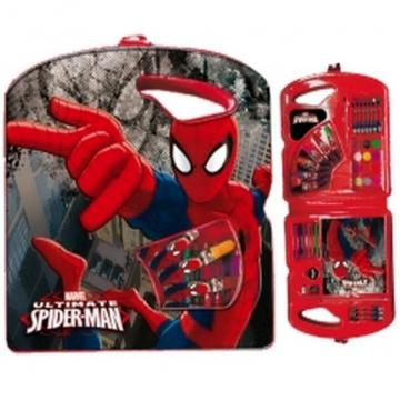 Set pictura-Micul artist-40 piese Spiderman Dark Marvel - Hello Kids